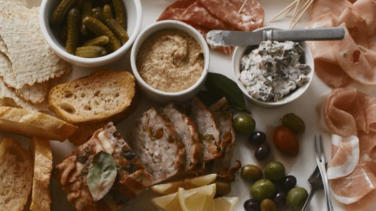 Our Easiest Charcuterie Plate