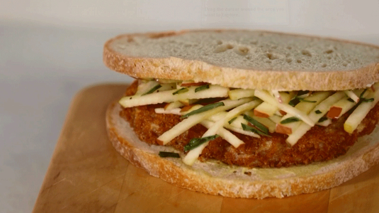 Sandwich Secret: Apple Slaw