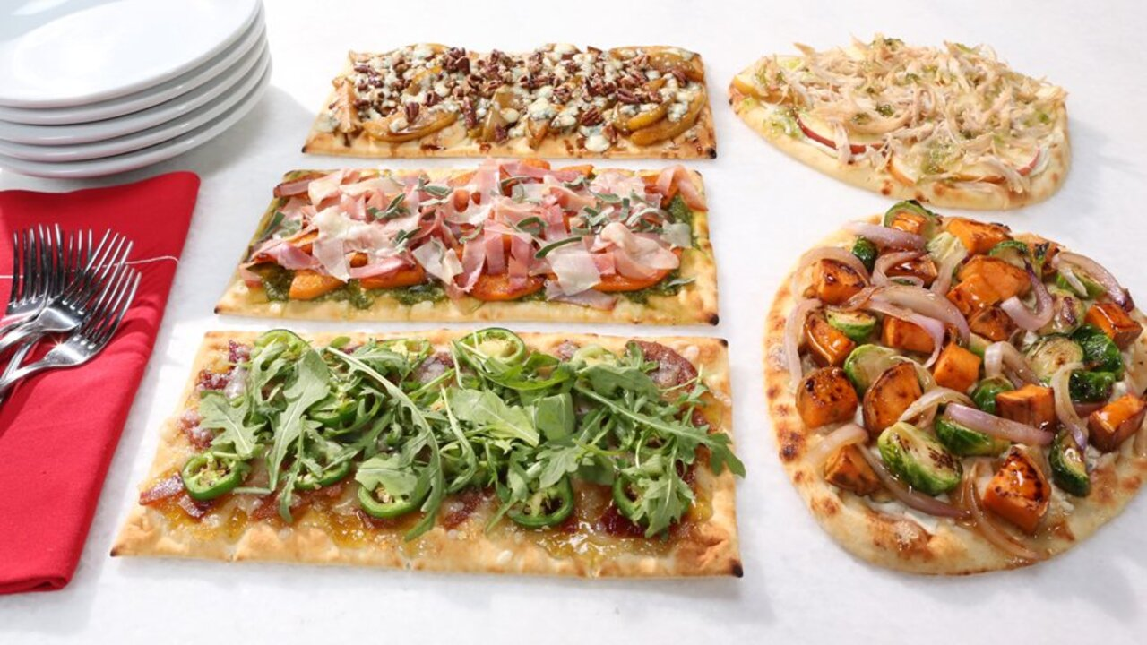 5 Flatbread Pizza Toppers