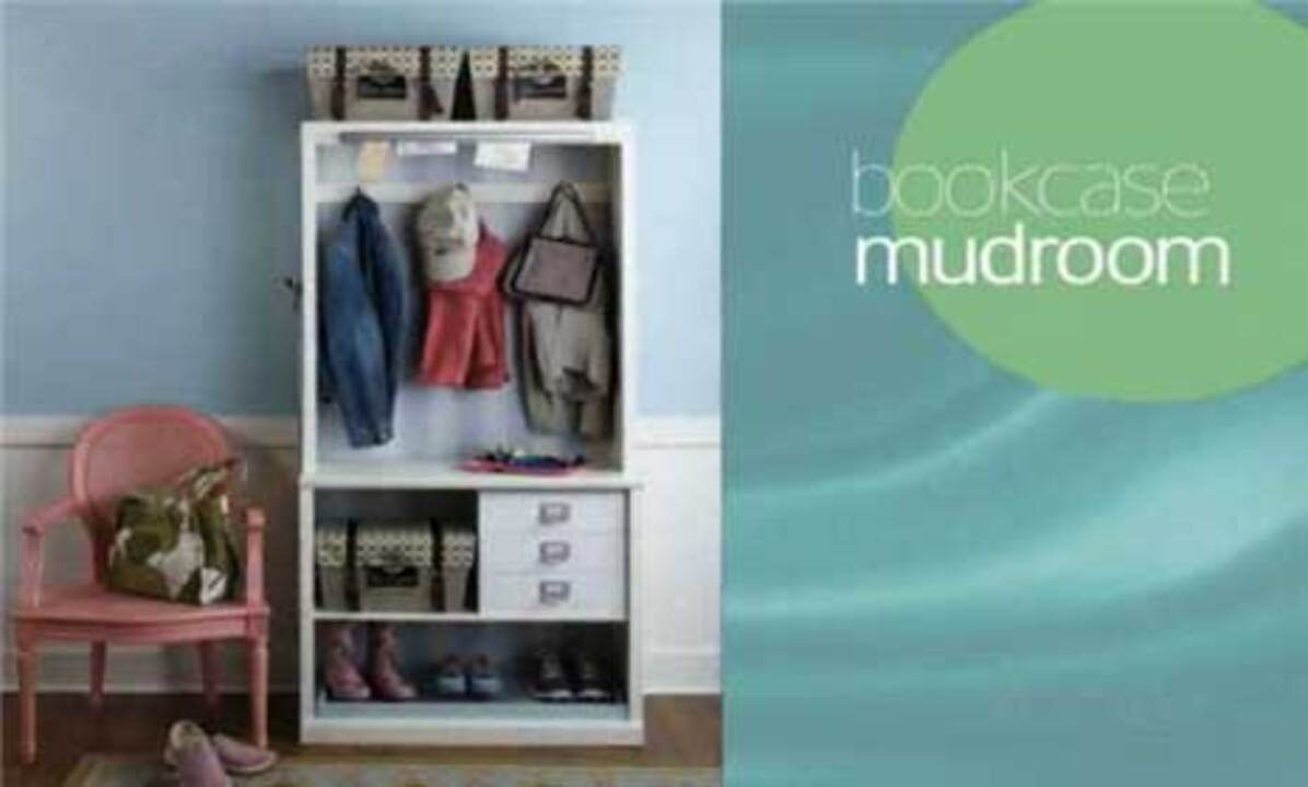 Video: DIY Mudroom