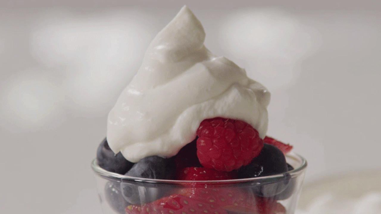 3-Ingredient Homemade Whipped Cream