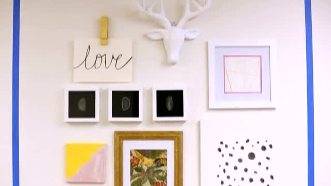 Do It Yourself: Gallery Wall