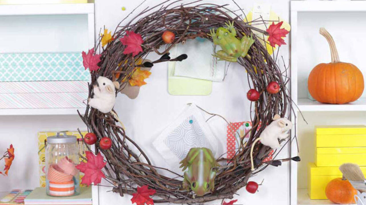 How to Make a Wicked Witch's Wreath