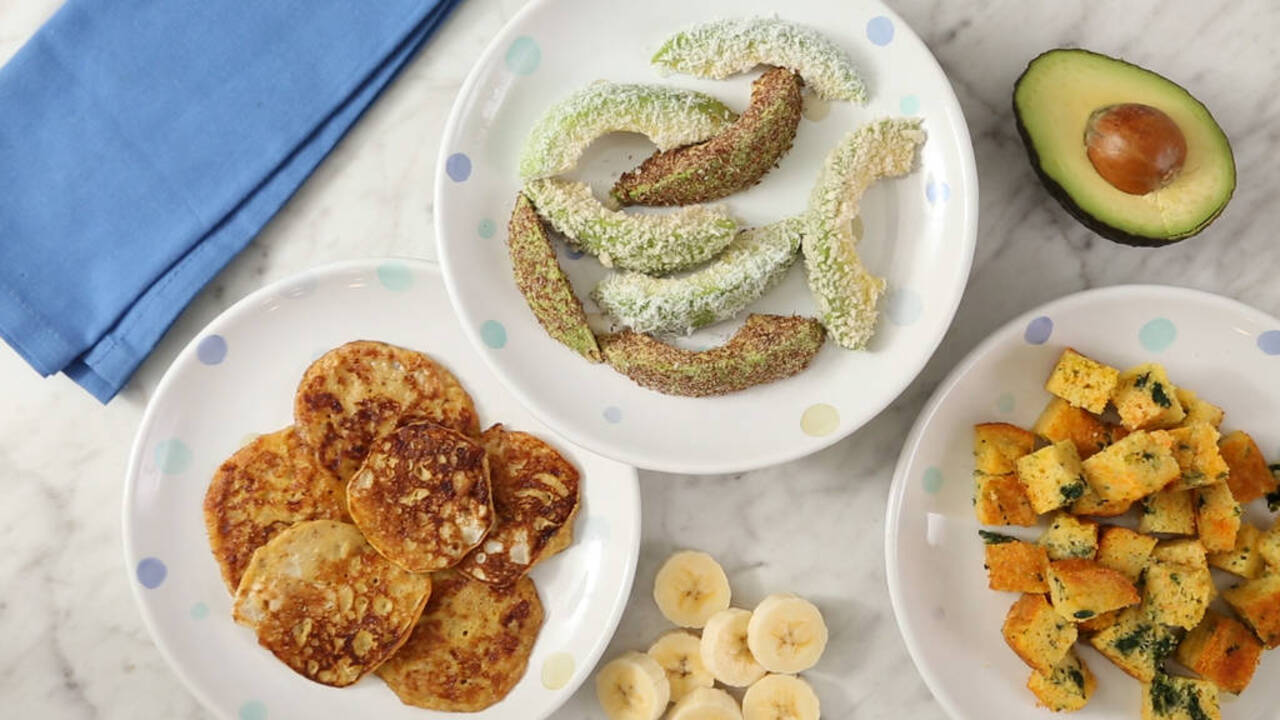 3 Finger Food Recipes Perfect for Baby-Led Weaning