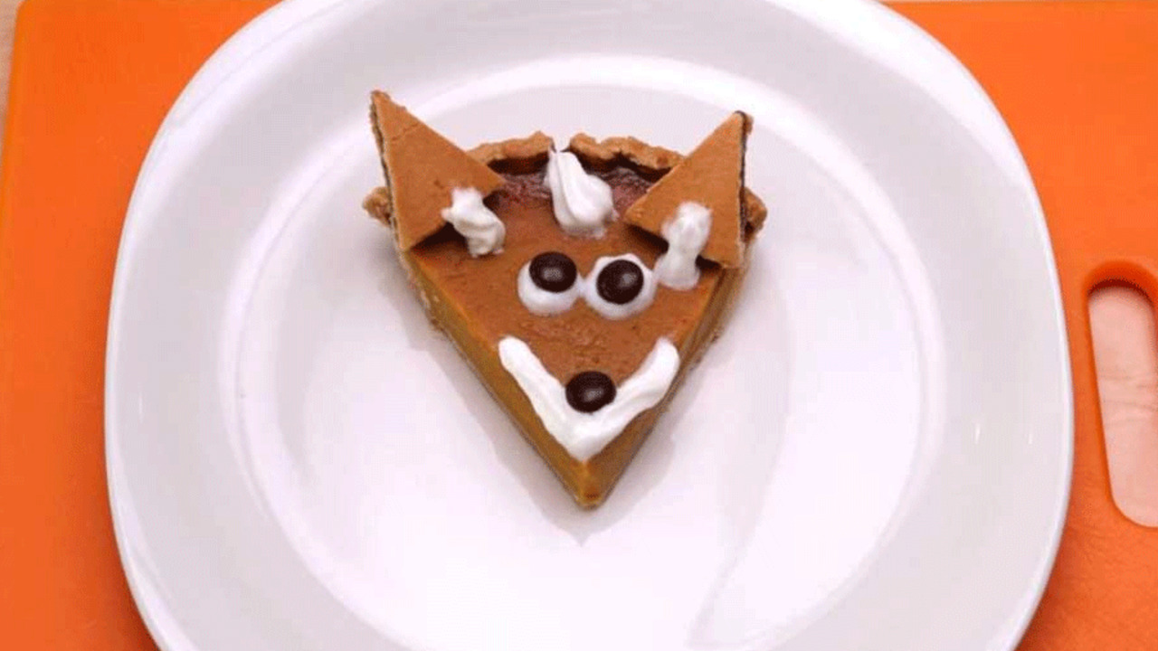 Fox Pumpkin Pie