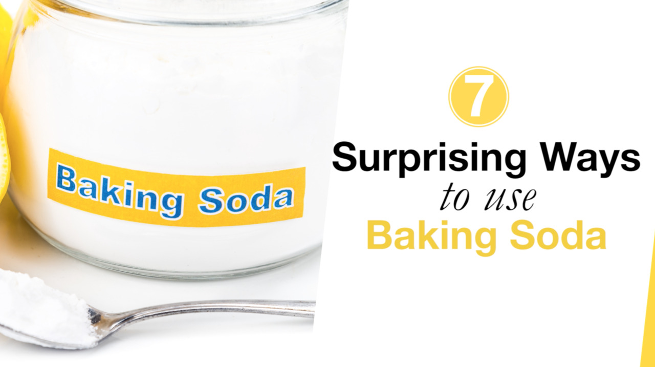 7 Surprising Ways to Use Baking Soda