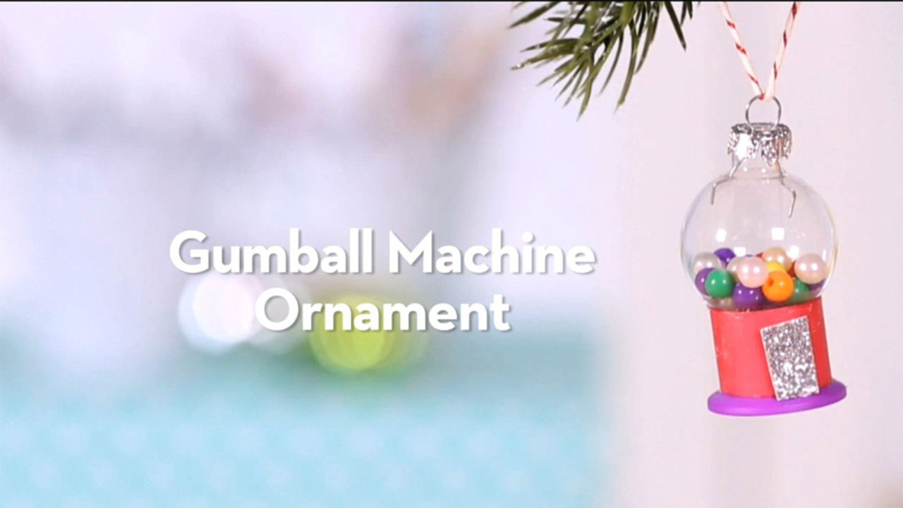 Kid Craft: Gumball Machine Ornament