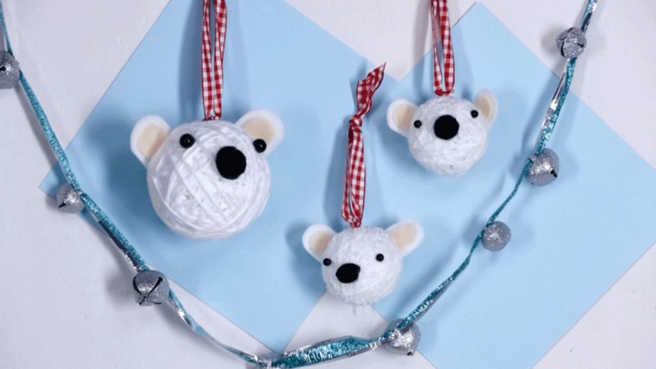 Polar Bear Ornaments How-To Video