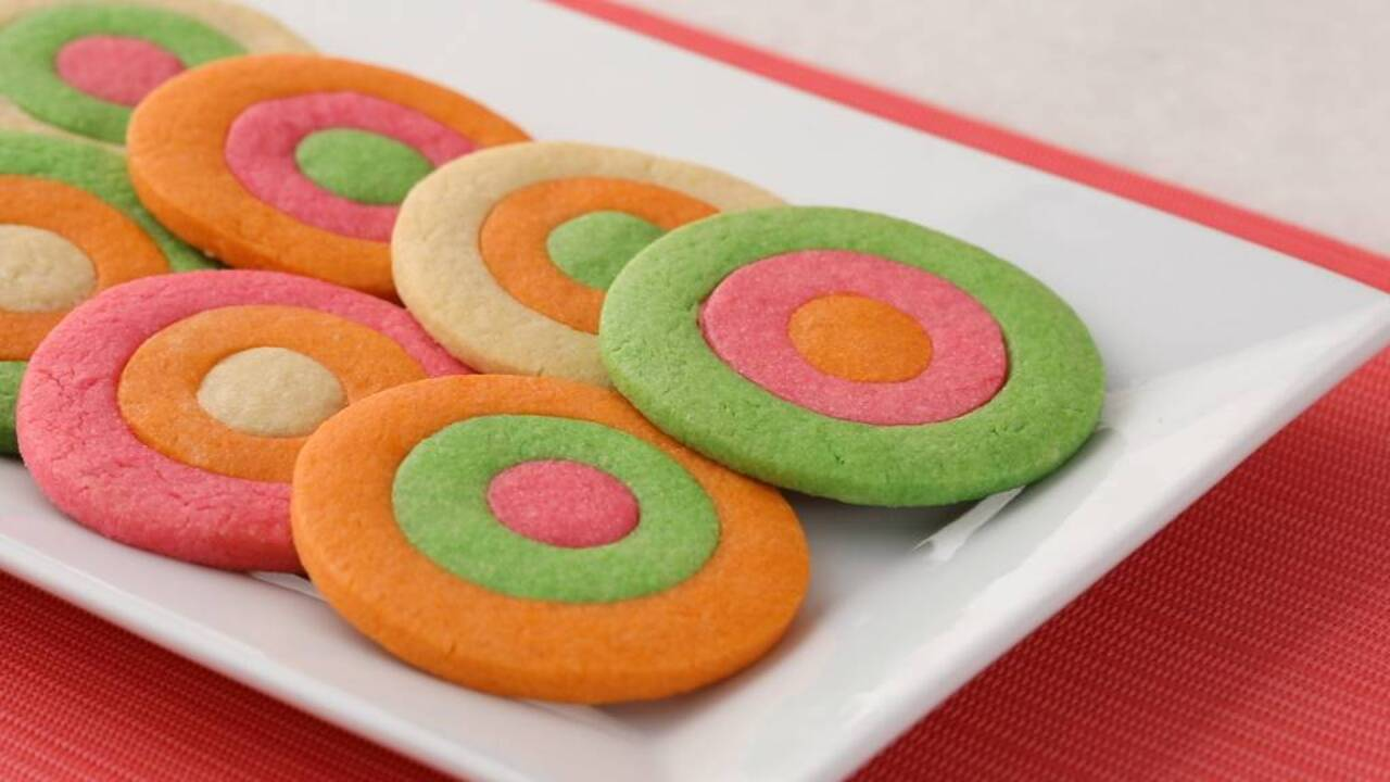 Rainbow Ring Cookies
