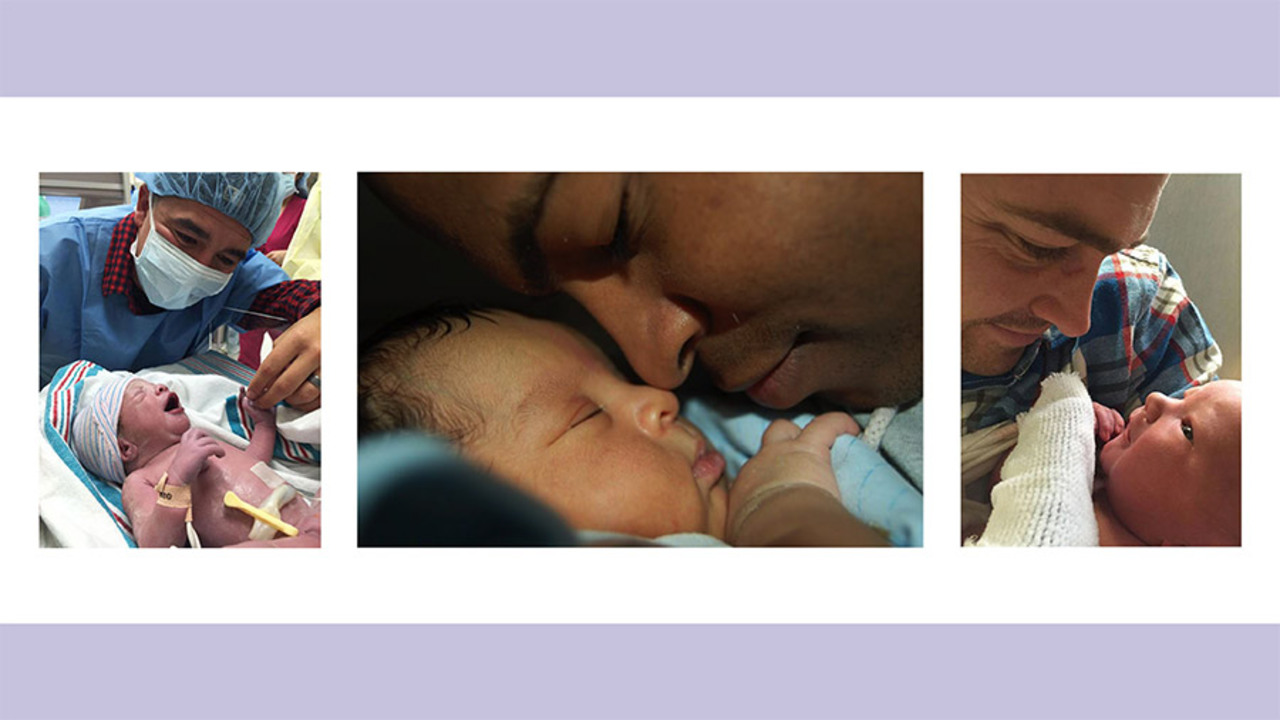 The Adorable First Moments These Dads Met Their Babies