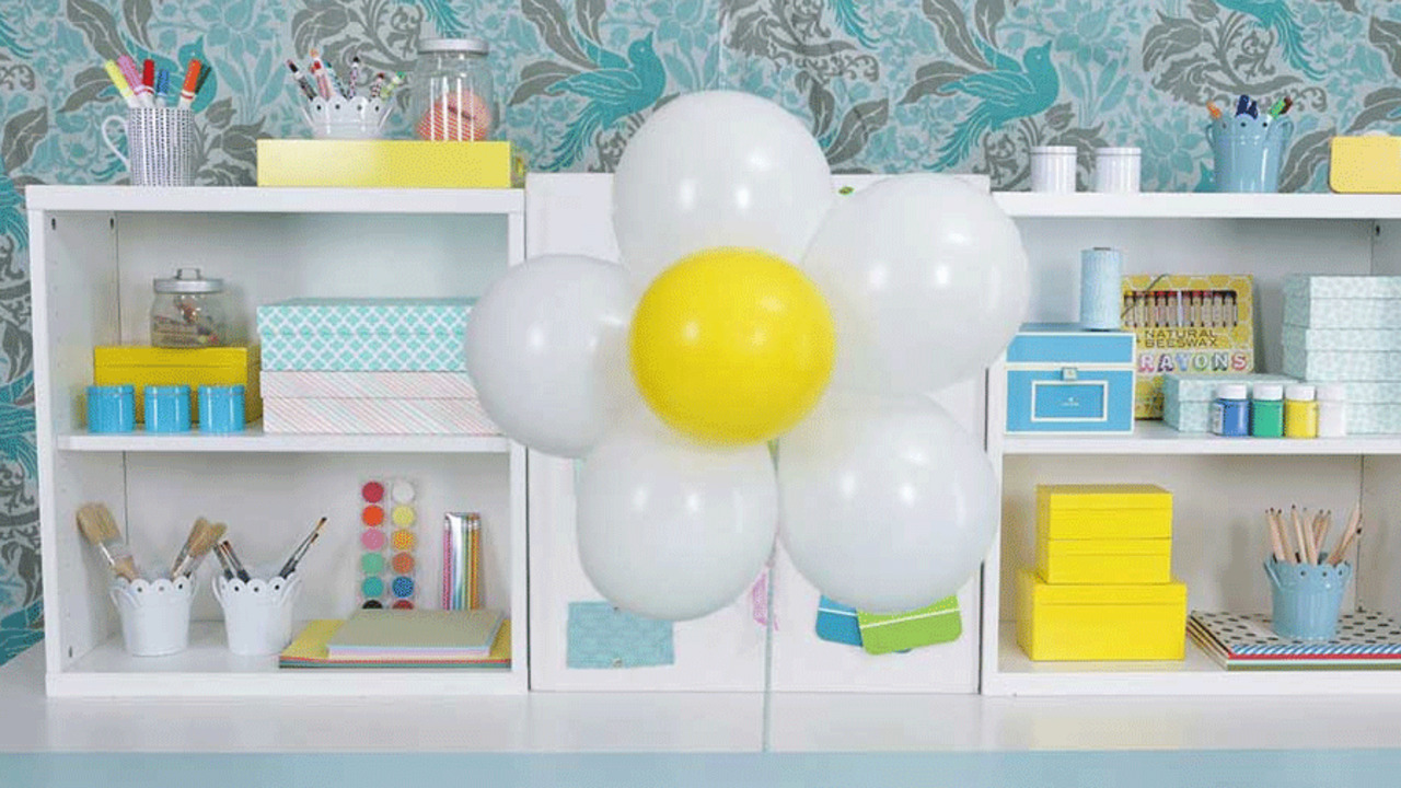 Birthday Party Ideas: Daisy Balloons