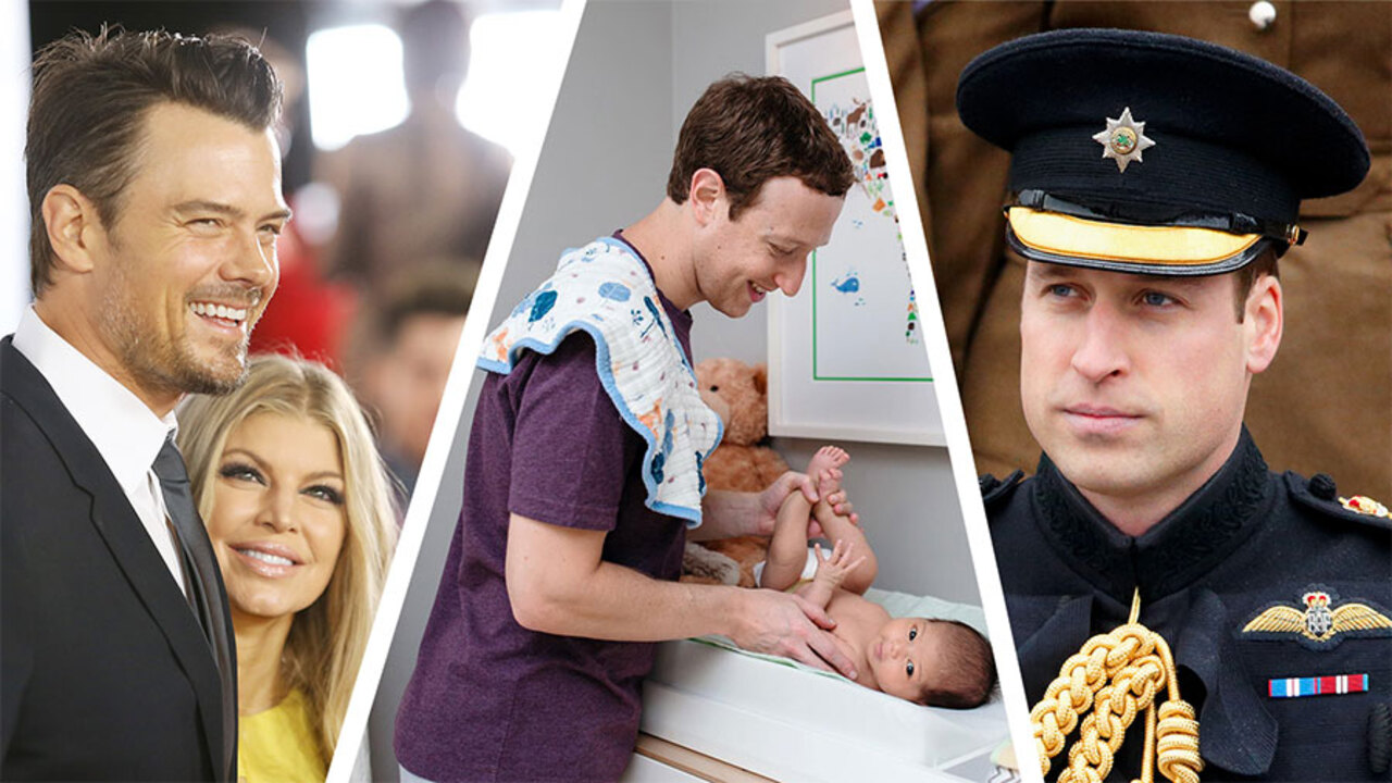 Celeb Dads Who Love Diaper Duty