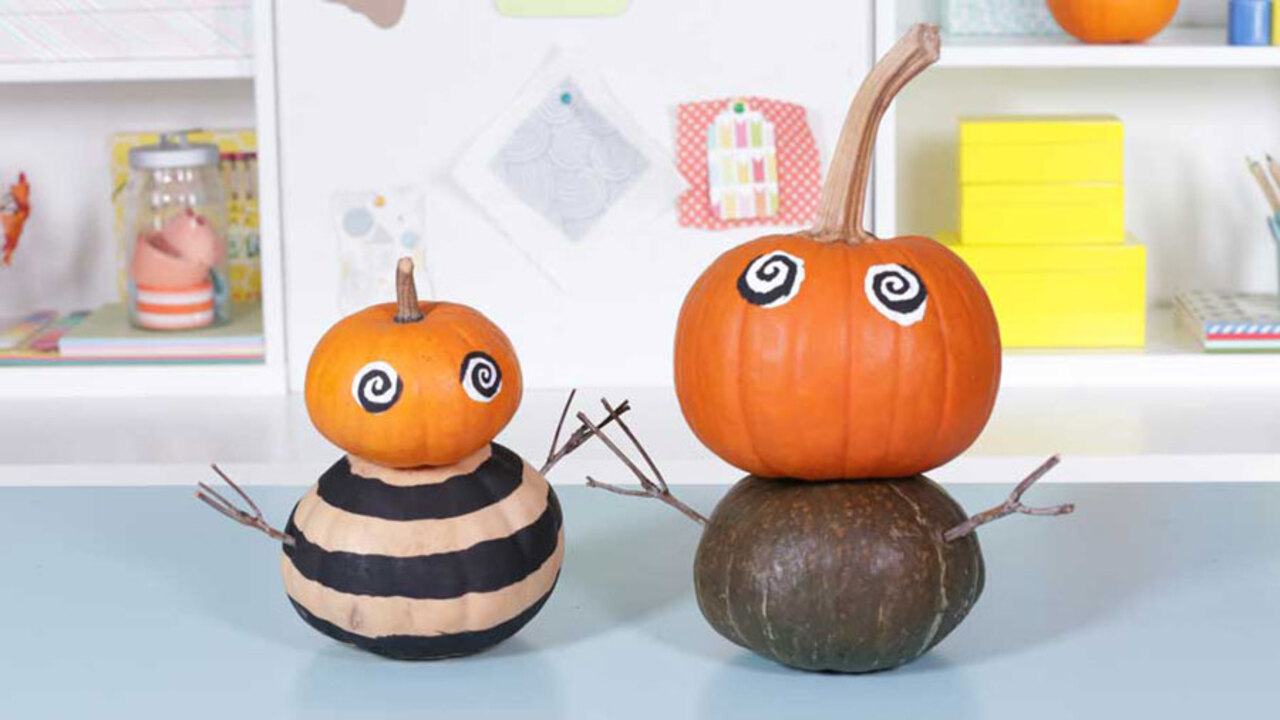 How to Make Pumpkin People