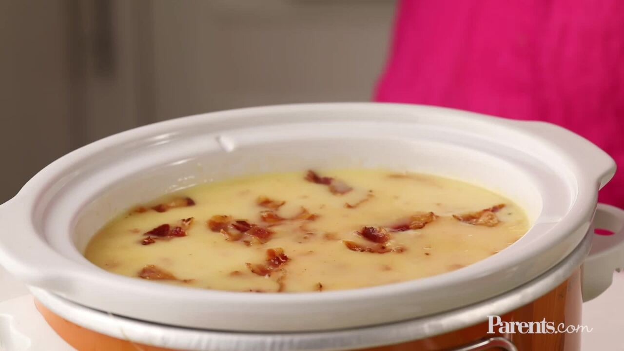 Bacon & Cheese Fondue