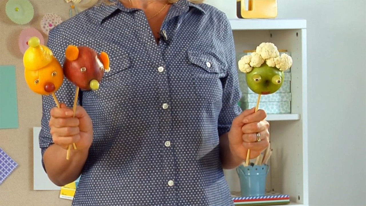 How to Make Snack Puppets