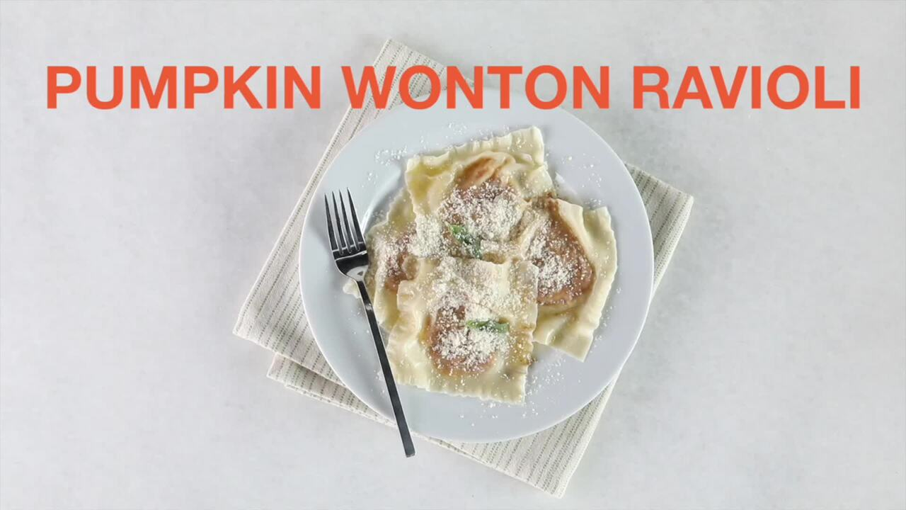 How to Make Pumpkin Ravioli