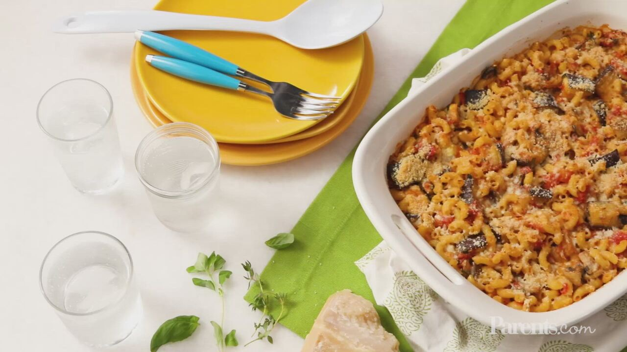Mac 'n' Cheese Ratatouille Bake