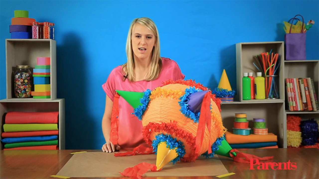 Fiesta Party Piñata: How-To Video