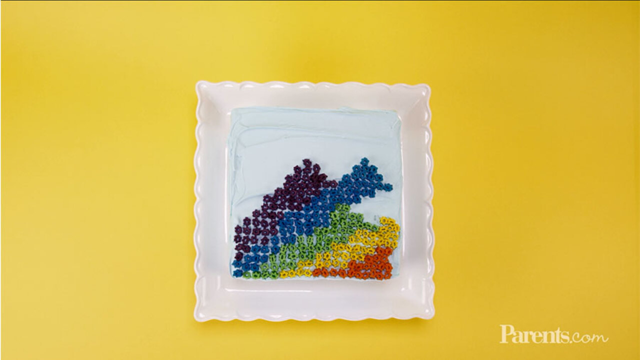How to Make a Pixel Cake