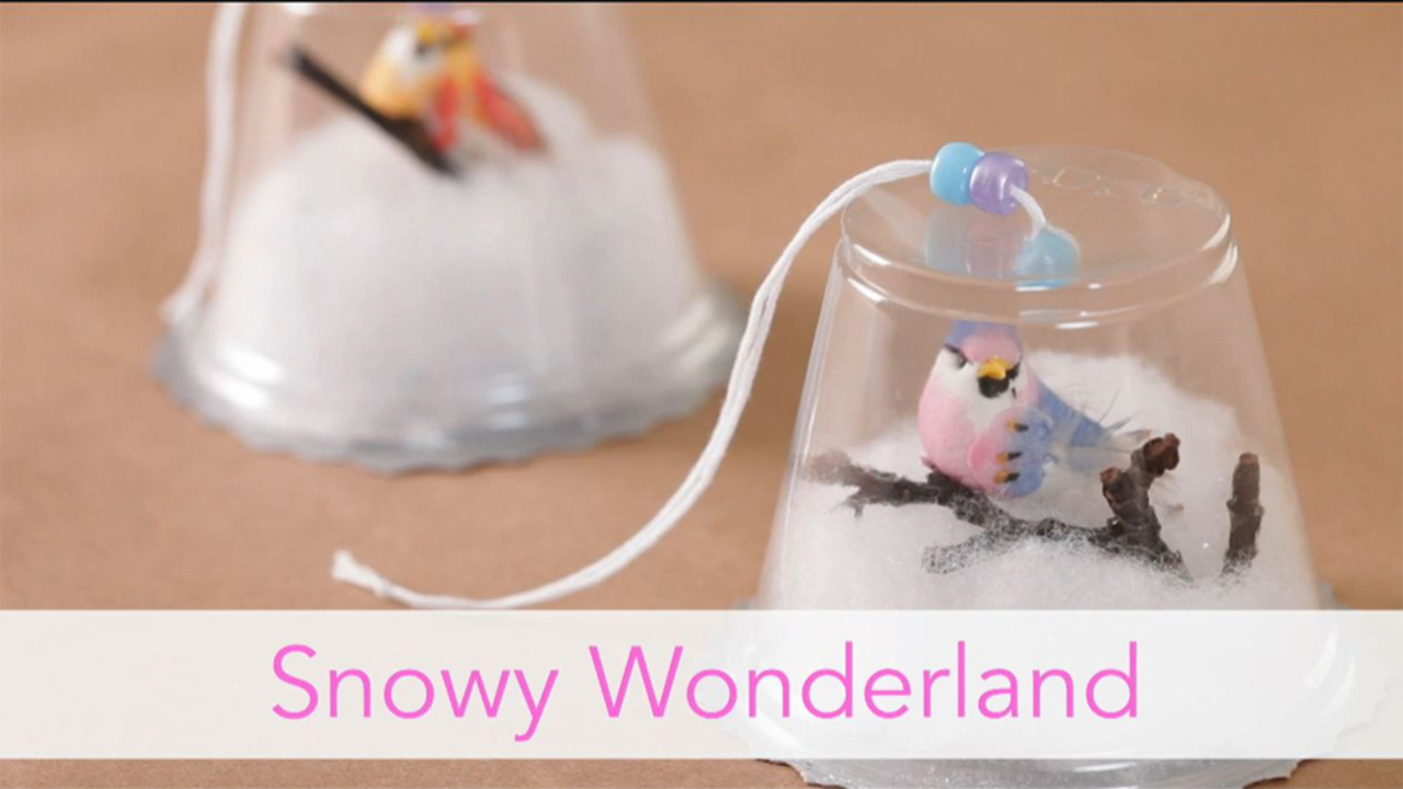 Snowy Wonderland Ornament