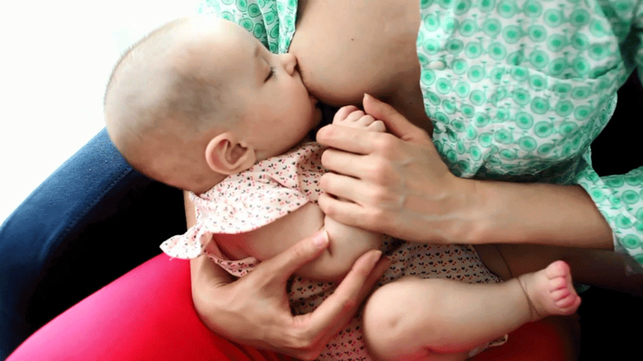 How to Do the Cradle Breastfeeding Position