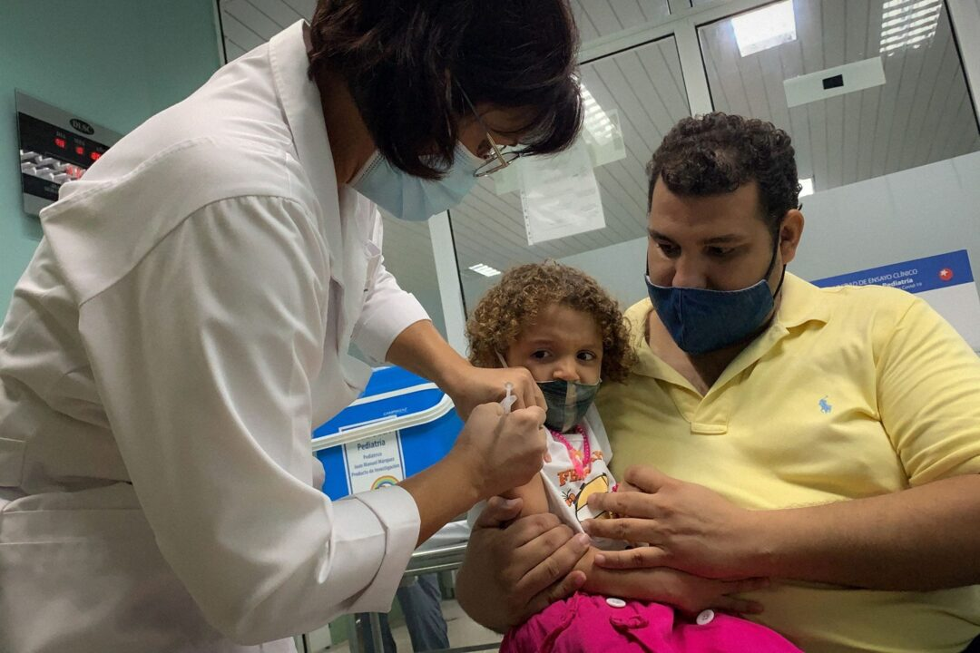 Cuba to Offer COVID-19 Vaccines to Children as Young as 2 This Week