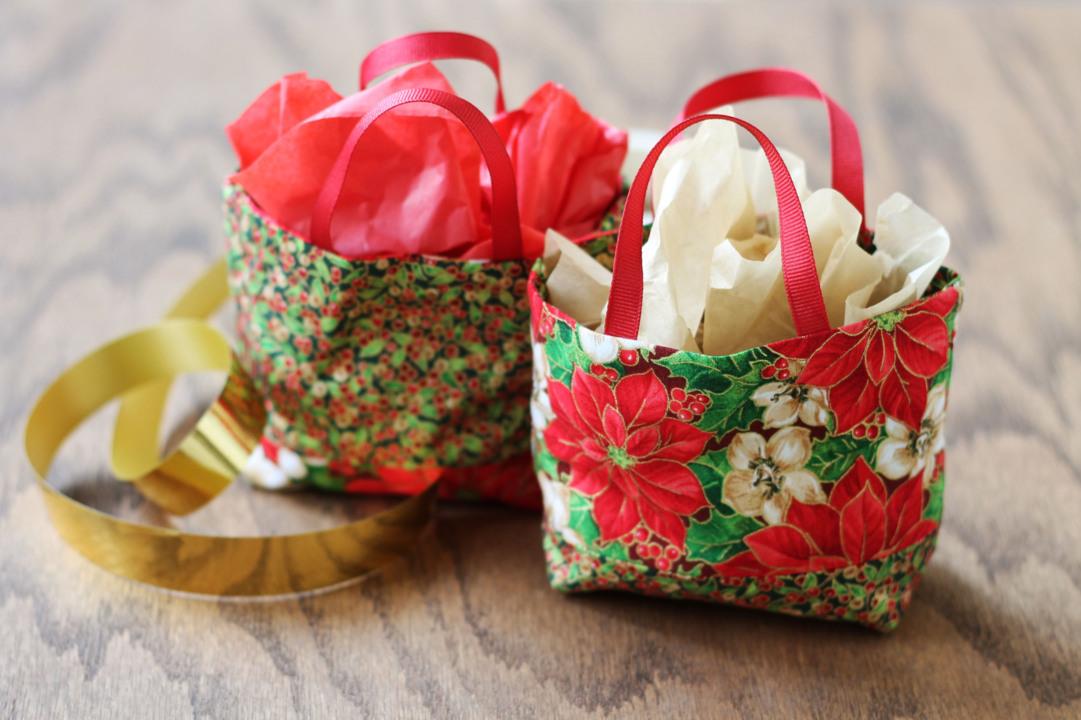 Cute Fabric Gift Bag