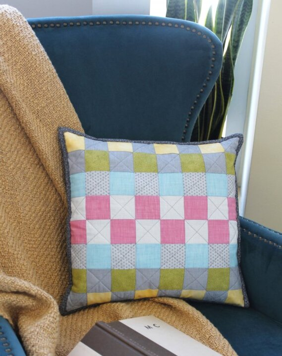 Show Me How: Quilted Pillow