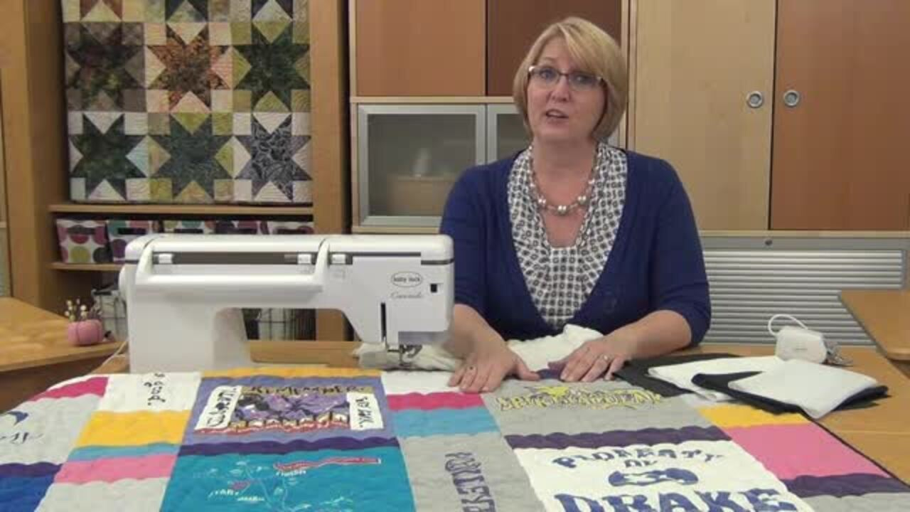 Secrets to Sewing T-Shirt Quilts