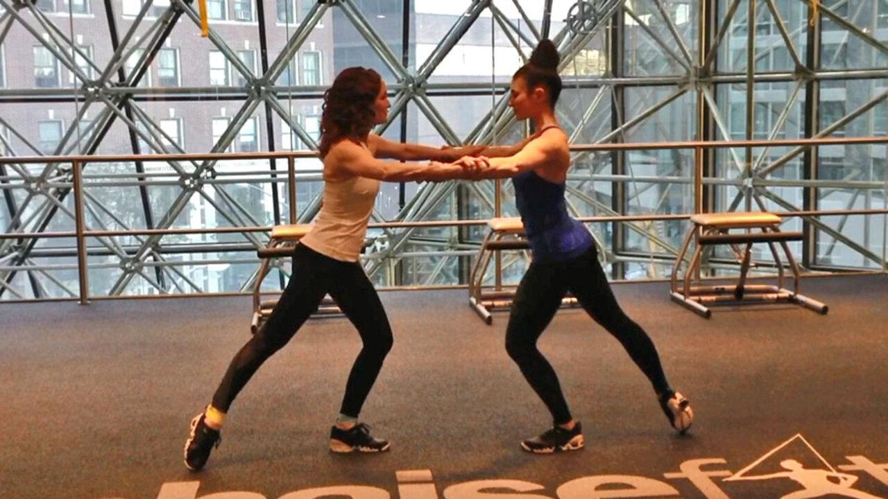 Partner Workout Slide