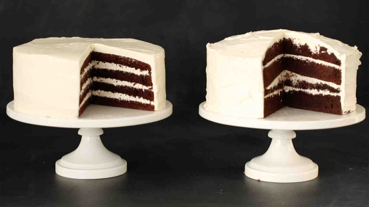 How to Fill and Frost a Cake