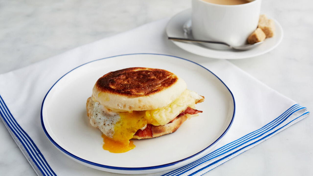 The Classic: Bacon and Egg Breakfast Sandwich