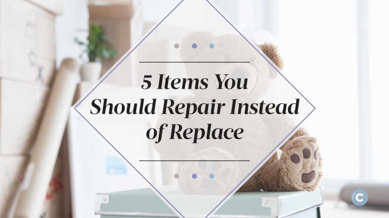5 Items You Should Repair Instead of Replace