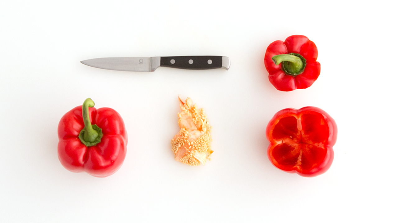 How to Seed a Bell Pepper