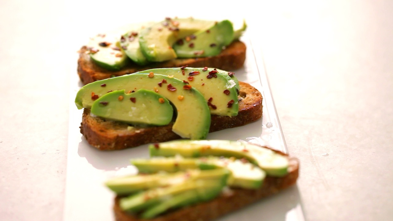 Avocado and Coconut Oil Toast