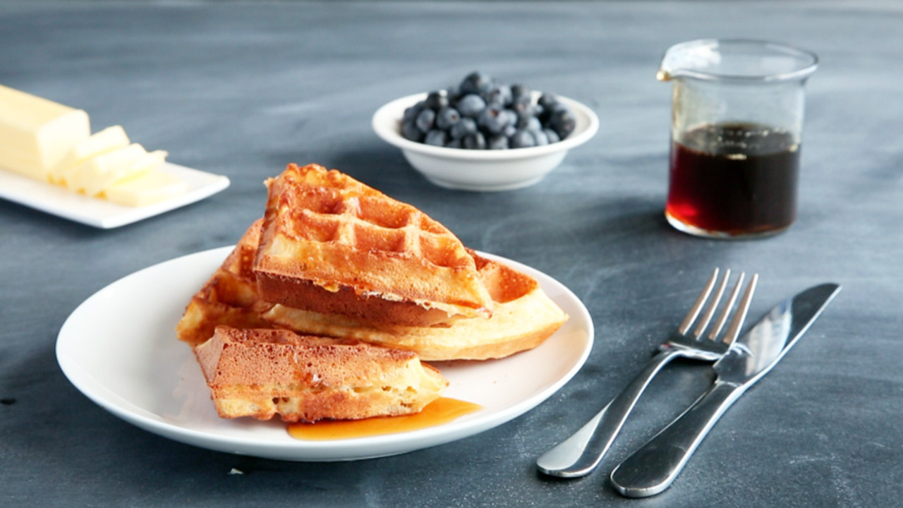 The Trick to Crispy-Fluffy Waffles