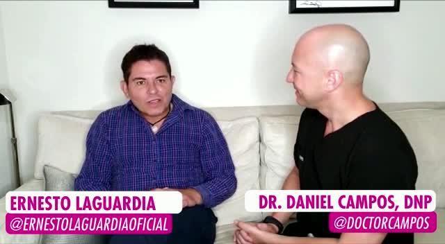 Descubre lo que hace Ernesto Laguardia para lucir tan joven a sus 59 años