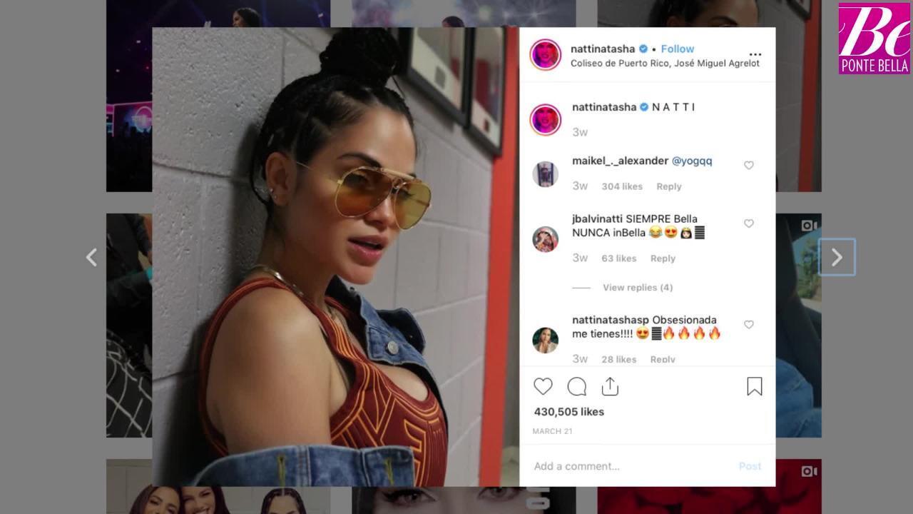 Natti Natasha reacciona al piropo de Rob Kardashian ¿romance a la vista?