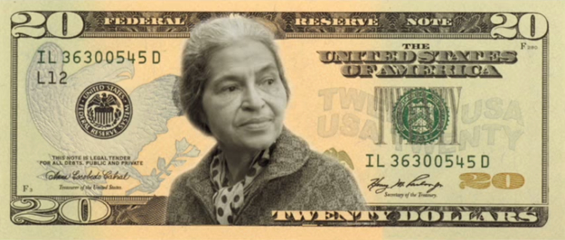 Could Rosa Parks one day be on our twenty dollar bill?
