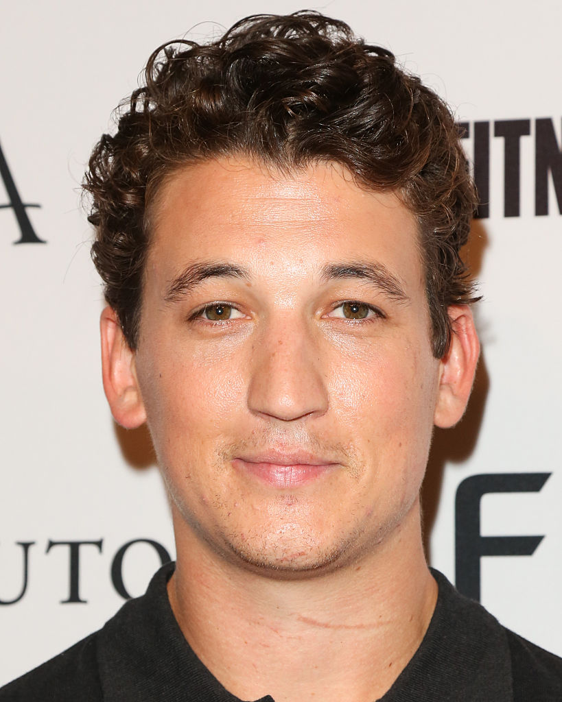 WEST HOLLYWOOD, CA - SEPTEMBER 24:  Actor Miles Teller attends the annual  Game Changers  celebration hosted by Men's Fitness magazine at Palihouse on September 24, 2015 in West Hollywood, California.  (Photo by Paul Archuleta/FilmMagic)