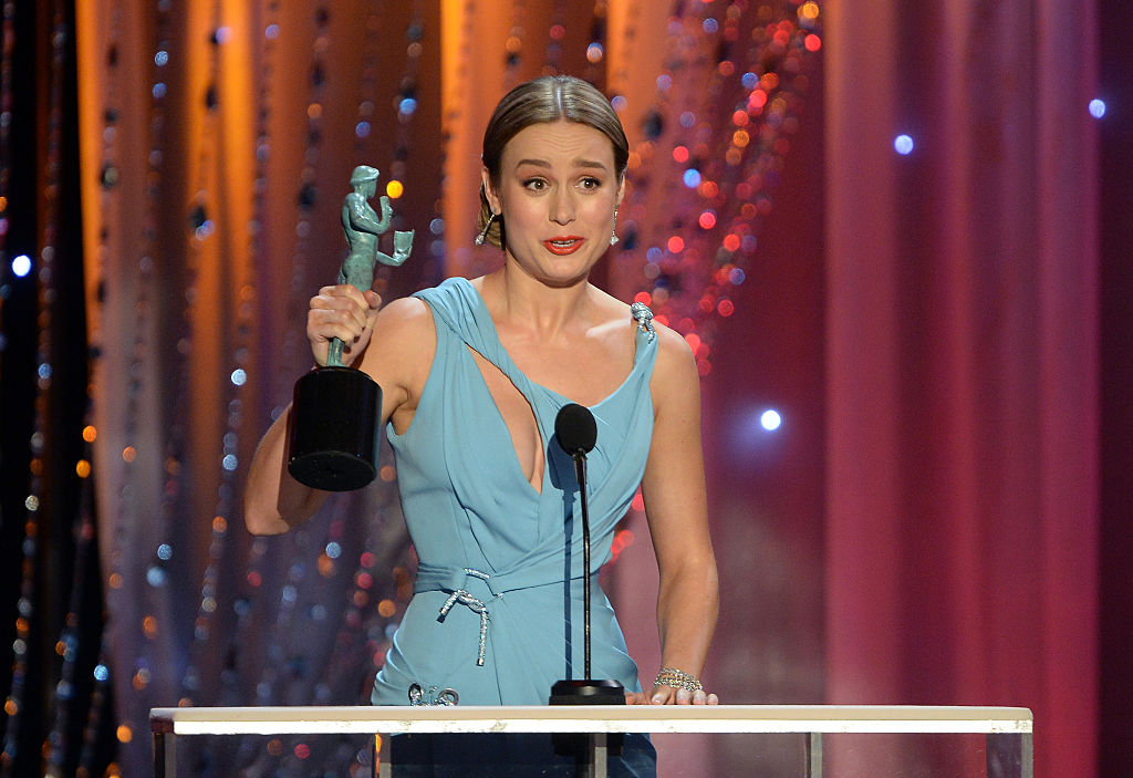 onstage during the 22nd Annual Screen Actors Guild Awards at The Shrine Auditorium on January 30, 2016 in Los Angeles, California.