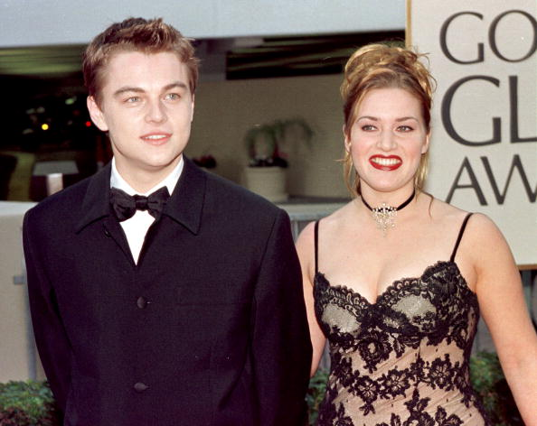 Leo and Kate at the 1998 Golden Globes.