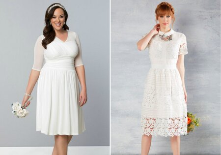 15 beautiful wedding dresses that you can easily re-wear to work ... a878c4eb5
