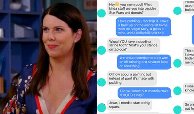 I messaged dudes on Tinder using only Lorelai Gilmore quotes ...