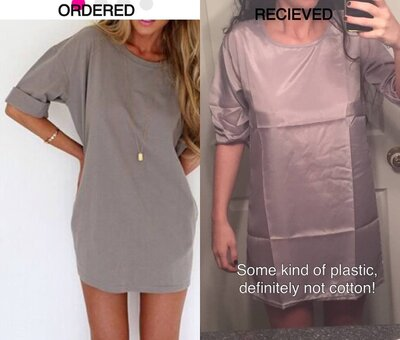 This is why you should never order cheap dresses you find