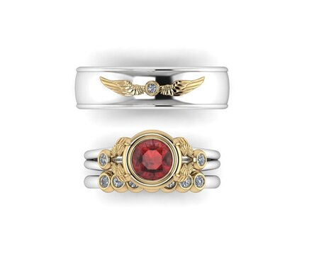 These Harry Potter Engagement Rings Will Absolutely Enchant You