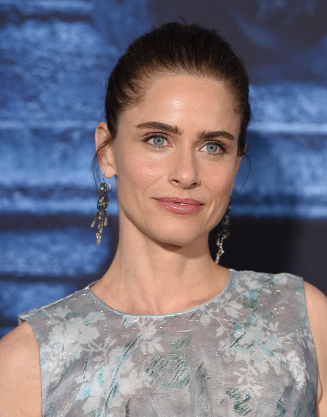 HOLLYWOOD, CA - APRIL 10:  Actress Amanda Peet arrives at the premiere of HBO's 'Game Of Thrones' Season 6 at TCL Chinese Theatre on April 10, 2016 in Hollywood, California.  (Photo by Axelle/Bauer-Griffin/FilmMagic)