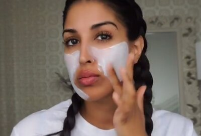 According to one beauty blogger, diaper rash cream will give
