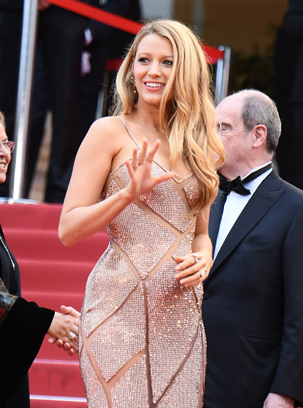 CANNES, FRANCE - MAY 11:  Blake Lively attends the screening of  Cafe Society  at the opening gala of the annual 69th Cannes Film Festival at Palais des Festivals on May 11, 2016 in Cannes, France.  (Photo by George Pimentel/WireImage)