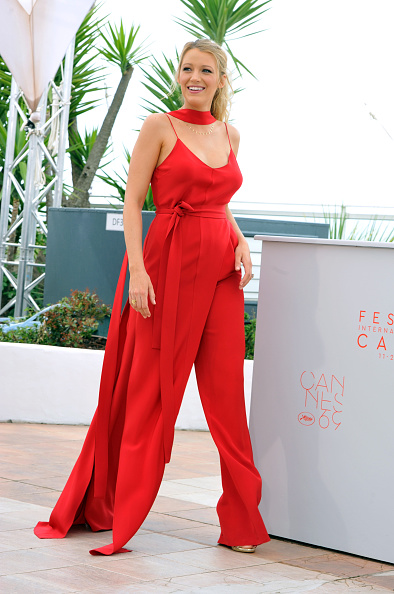 CANNES, FRANCE - MAY 11:  Actress Blake Lively attends the 'Cafe Society' Photocall during The 69th Annual Cannes Film Festival on May 11, 2016 in Cannes, France.  (Photo by Camilla Morandi/Corbis via Getty Images)
